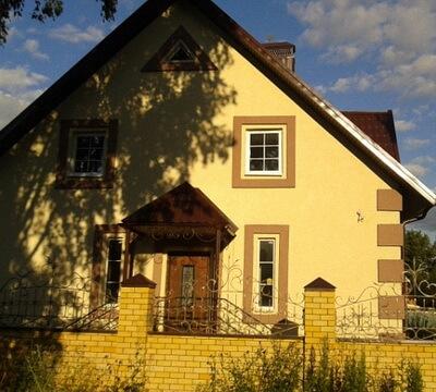 Современная отделка фасада дом фото